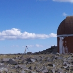 The old dome and weather station at WMRS
