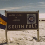 UCSB Flag - South Pole 1989