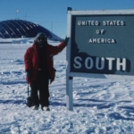 South Pole 1988 - notice lastest fashion