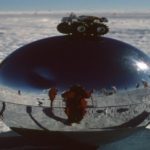 "The ""Orb"" at the South Pole - with a compact Hummer"