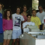 RAAP Construction UCSB - undergrad crew who built it - 1990
