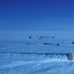 South Pole 1988 - structures eventually get buried