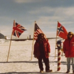 Todd gaier and Mike Seiffert at the South Pole