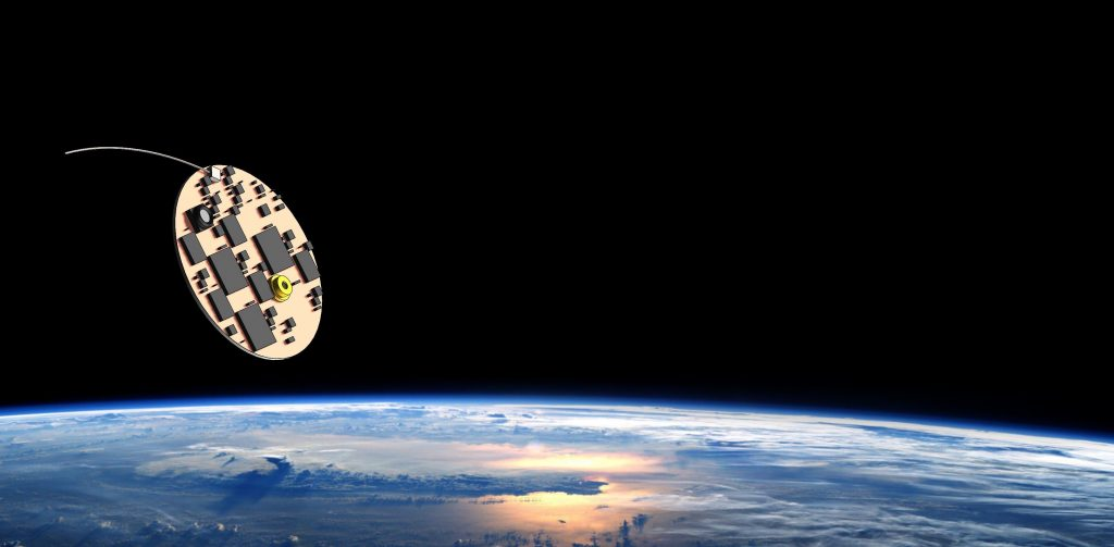 Wafer Scale Spacecraft