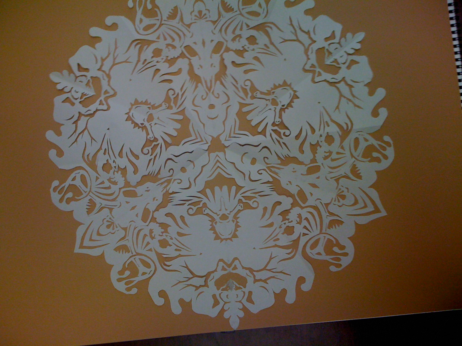 3-fold symmetry cut out