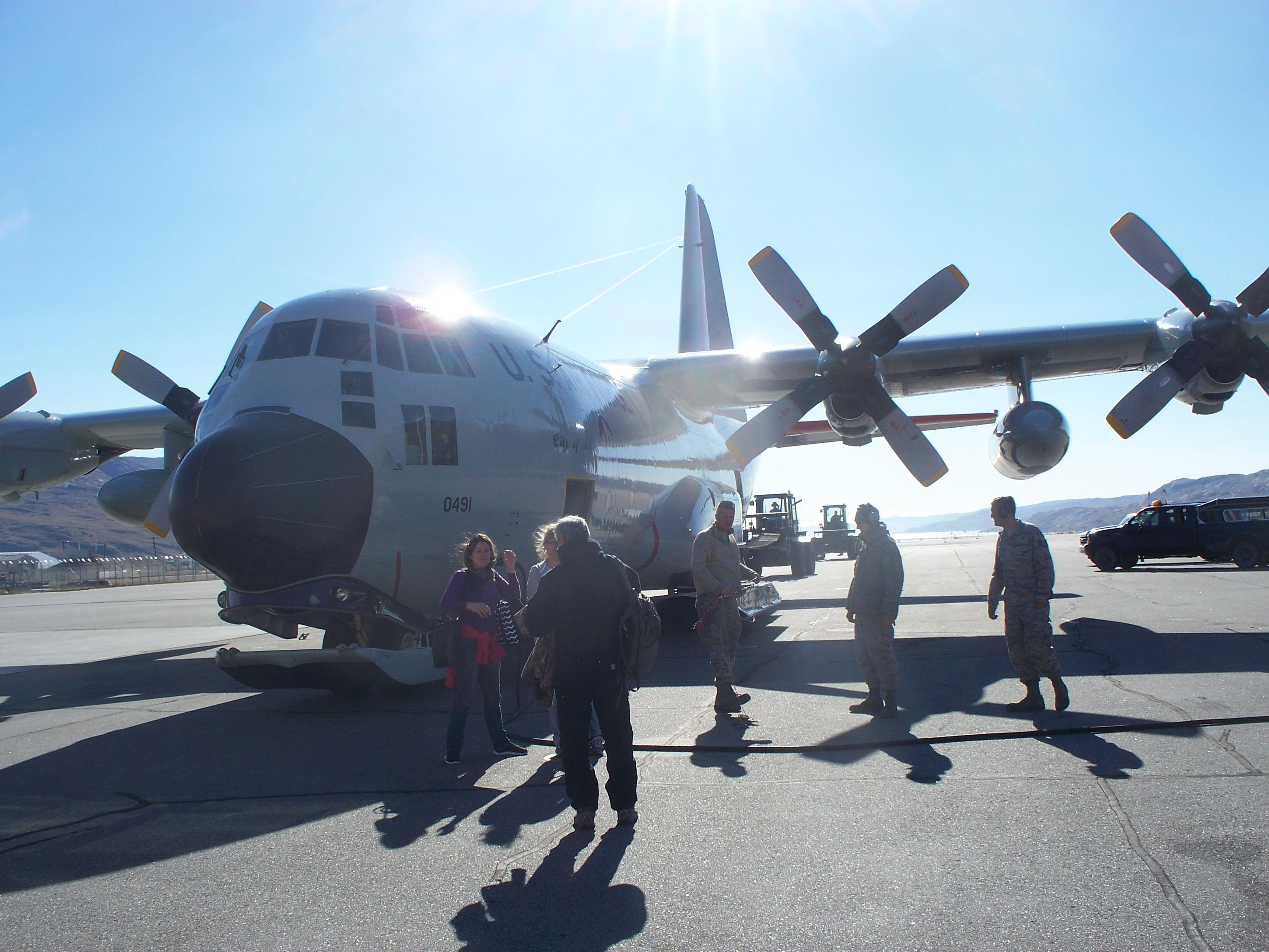Plane From Kangerlussuaq to Summit