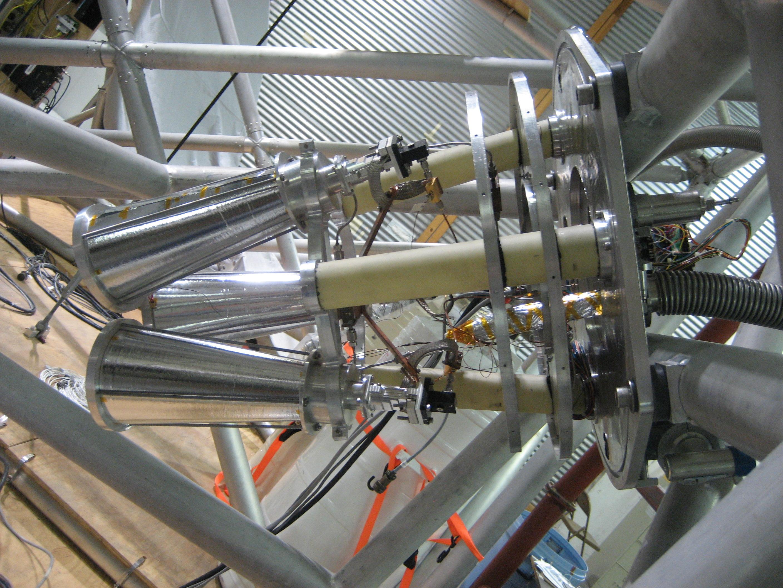 10 GHz Horns in Detector Array