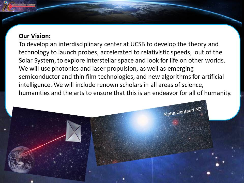 Vision for an Interstellar Center