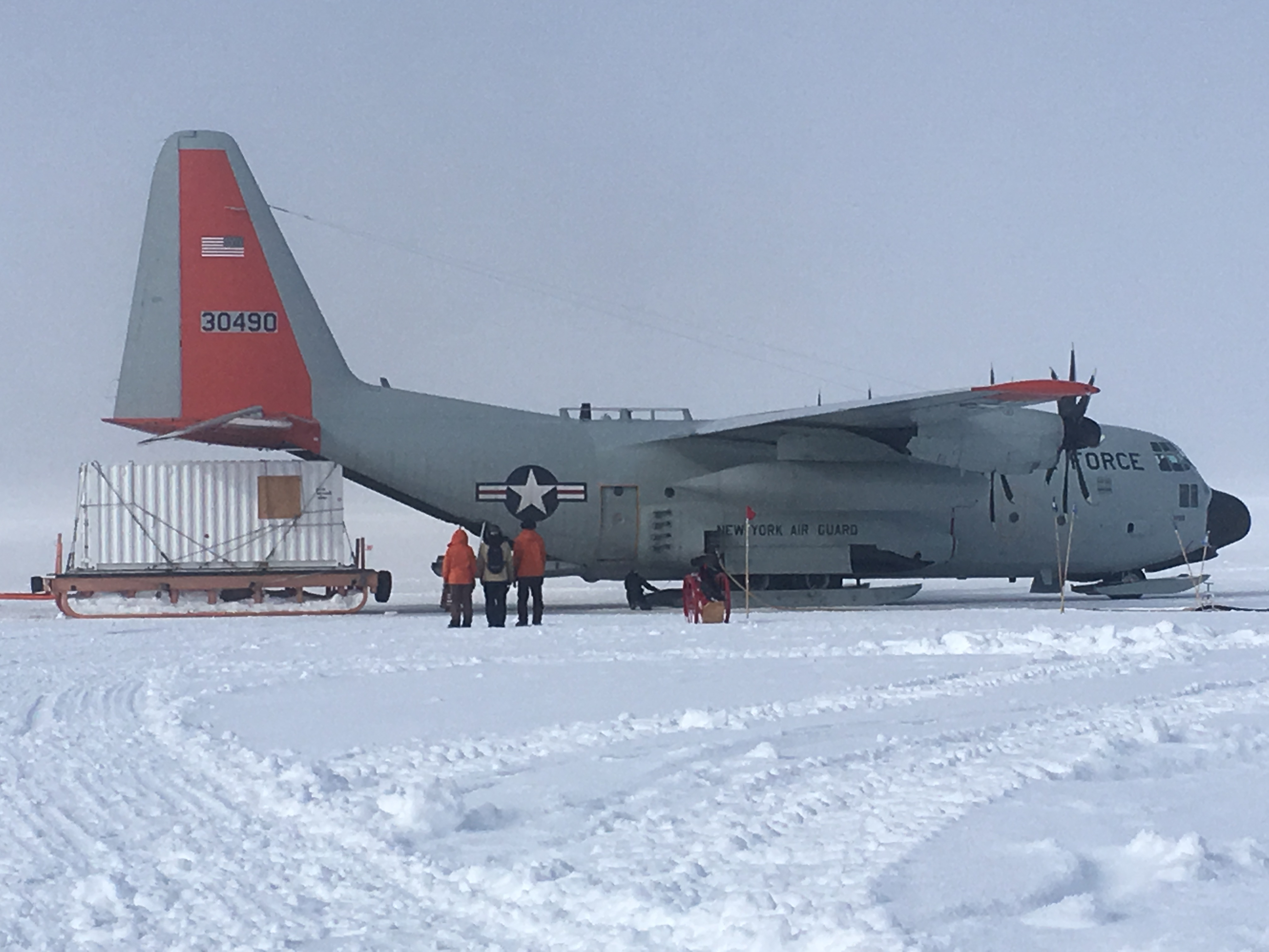 Loading up to go home on C-130